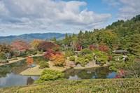 Yokuryuichi Pond, Shugakuin Imperial Villa, Kyoto, Japan Fine Art Print