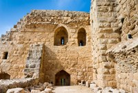 Muslim military fort of Ajloun, Jordan Fine Art Print