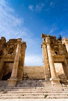 Propilaeum of the Temple of Artemis, Jerash, Gerasa, Jordan Fine Art Print