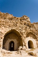 The crusader fort of Kerak Castle, Kerak, Jordan Fine Art Print