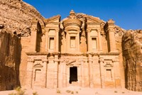 The Monastery or El Deir, Petra, UNESCO Heritage Site, Jordan Fine Art Print