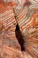 Sandstone Rock Formations, Petra, Jordan Fine Art Print