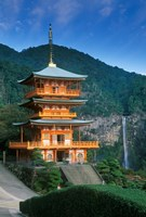 Kumano Nachi Shrine, Katsuura, Wakayama, Japan Fine Art Print
