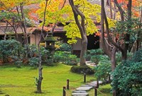 Okochi Sanso, Arashiyama, Kyoto, Japan Fine Art Print