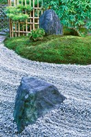 Daitokuji Temple, Zuiho-in Rock Garden, Kyoto, Japan Fine Art Print