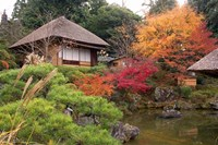 Tea House, Kyoto, Japan Fine Art Print