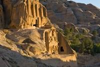 Obelisks Tomb, Petra, Jordan Fine Art Print