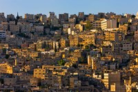 Traditional houses in Amman, Jordan Fine Art Print