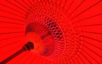 Red Radial, Japan Fine Art Print