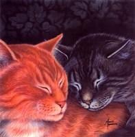 Nap Buddies Fine Art Print