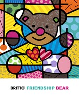 Friendship Bear Fine Art Print