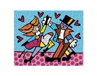 Dancing Couple Fine Art Print