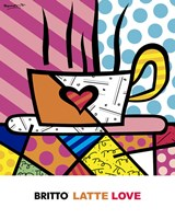 Latte Love Fine Art Print