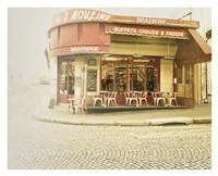 Paris Brasserie Fine Art Print