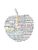 Apple Etiquette Fine Art Print