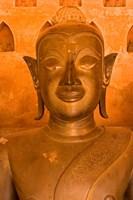 Buddha Images at Wat Si Saket, Vientiane, Laos Fine Art Print