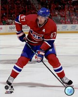 Max Pacioretty 2014-15 Action Fine Art Print