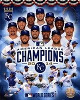 Kansas City Royals 2014 American League Champions Composite Framed Print