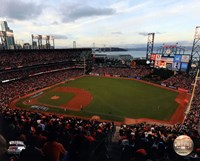 AT&T Park Game 3 of the 2014 World Series Fine Art Print