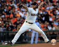 Madison Bumgarner Game 5 of the 2014 World Series Action Fine Art Print