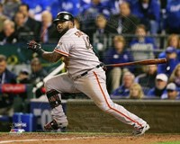 Pablo Sandoval Double Game 7 of the 2014 World Series Fine Art Print