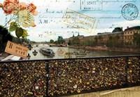 Pont Des Arts Fine Art Print