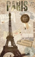 Sepia Paris Fine Art Print