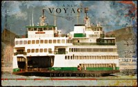 Voyage To Puget Sound Fine Art Print