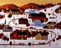 Christmas At Coal Creek Fine Art Print