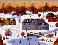 Coming Home For Christmas Fine Art Print