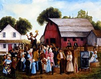 Farm Auction Fine Art Print