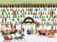 Ginger Snap Hollow Tree Farm Fine Art Print