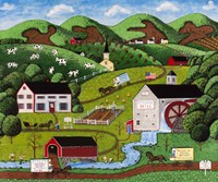 Hillsdale Farms Fine Art Print