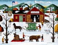Maple Moon Farm Fine Art Print