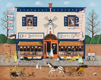 Old Dutchie's Bicycle Shop Fine Art Print