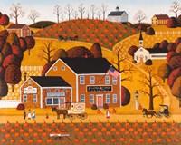 Pumpkin Crest Inn Fine Art Print