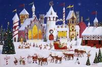 Santa's North Pole Fine Art Print