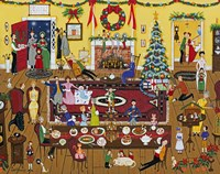 The Holidays With Family And Friends Fine Art Print