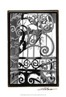 Wrought Iron Elegance II Fine Art Print
