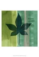 Silver Leaf Tile IV Fine Art Print