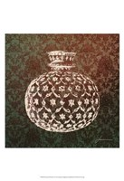 Patterned Bottles I Fine Art Print