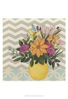 Patterns & Petals I Framed Print