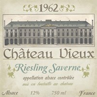 Vintage Wine Labels VII Fine Art Print