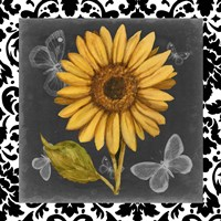 Ornate Sunflowers I Fine Art Print