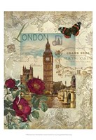 Eternal London Framed Print