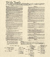 Constitution Document Fine Art Print