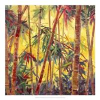 Bamboo Grove II Fine Art Print