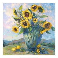 Floral Kaleidoscope III Fine Art Print