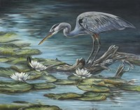 Heron Haven Fine Art Print