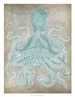 Spa Octopus I Framed Print